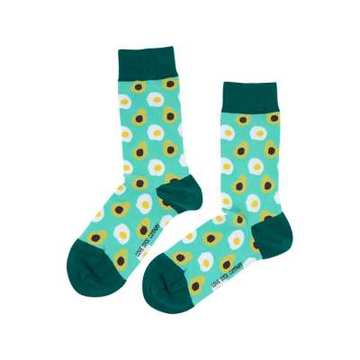 Avocado Love Sock Unisex Men Women Colorful Socks 1 or 3 pairs