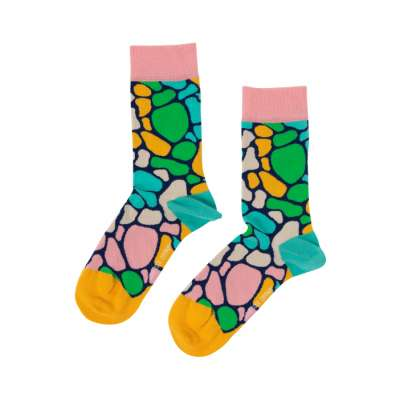 Rainbow Giraffe Sock Unisex Men Women Socks 1 or 3 pairs