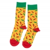 Yellow Hot Chili Pepper Sock Unisex Herren Damen Socken 1 oder 3 Paar