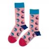 Pink Chameleon Sock Unisex Men Women Socks 1 or 3 pairs