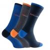 Rhodea Basic Socks Unisex Men Women Socks Organic Cotton 2 or 6 pairs of STYLE RH-21