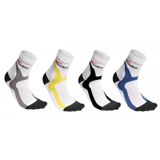 Rhodea Sport Fahrradsocken Unisex Herren Damen Socken Bio-Baumwolle 1 oder 3 Paar STYLE RH-33