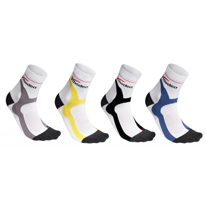 Rhodea Sport cycling socks unisex men women socks organic cotton 1 or 3 pairs of STYLE RH-33