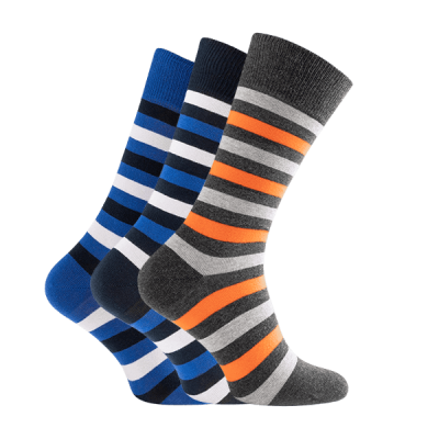 Rhodea Basic Socks Unisex Men Women Socks Organic Cotton 2 or 6 pairs of STYLE RH-22