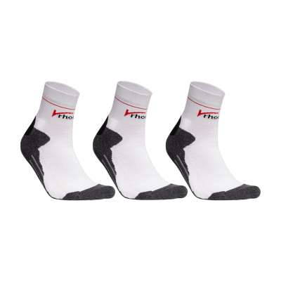 Rhodea Sport Socks Running Socks Unisex Men Women Organic Cotton 1 or 3 pairs of STYLE RH-32