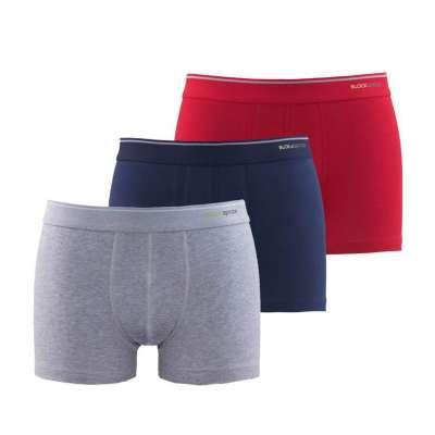 Blackspade 3er Pack Tender Cotton Baumwolle Herren Unterhosen Boxer M9670
