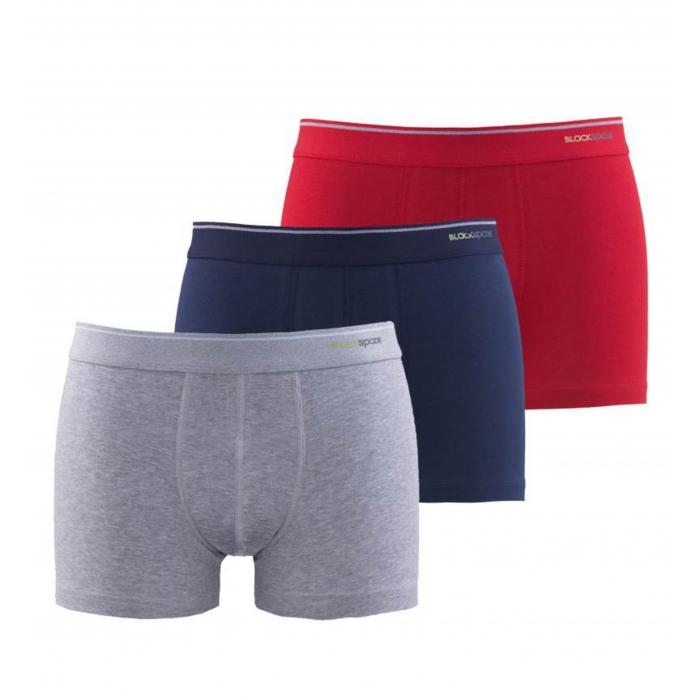 Blackspade 3-Pack Tender Cotton Cotton Men's Underpants Boxer M9670