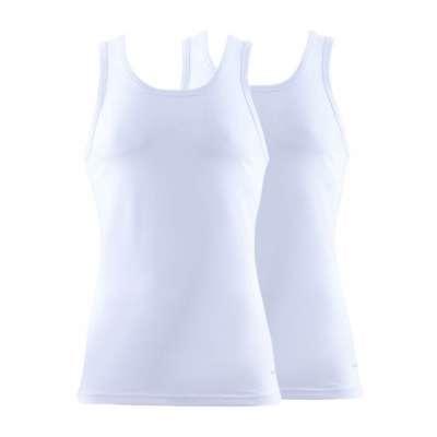 Blackspade 2er Pack Cotton Baumwolle Unterhemd Schwarz, Weiß 9678