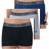 Blackspade 9472 Brand Quality 3-Pack Men's Boxer Shorts Modern Basics Underpants Multicolored