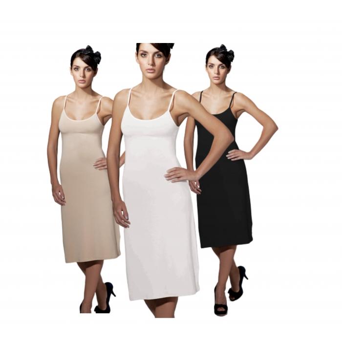 Doreanse Underwear Women's Underdress Opaque Mini Adjustable Straps Cotton Modal Underpants Women 11129