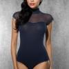 Doreanse Underwear Ladies Bodysuit Lace Bodysuit Ladies Top Transparent Body Shirt Women Bodysuit 12120