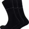 Pierre Cardin Business Men's Socks Black Special Offer 3 Pairs