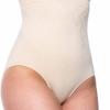 miorre Damen Figurenformend Miederslip Nahtlose Shapewear Bauchweg Unterhose Damen-309