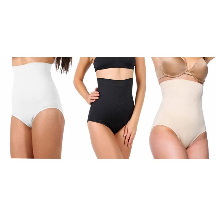 miorre Damen Figurenformend Miederslip Nahtlose Shapewear Bauchweg Unterhose Damen