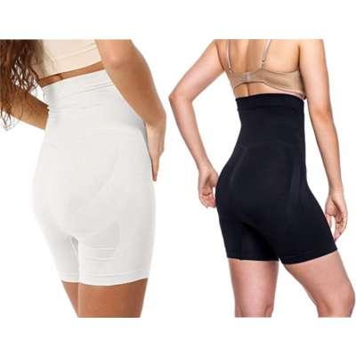 miorre Shapewear Damen Figurenformend Miederpants Miederhose Shapewear BauchWeg Effekt Body Shaper