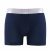 Herren Boxershort Unterhose Premium Baumwolle Cotton schwarz Navy weiß 9303-354