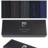 Pierre Cardin bunt premium baumwolle Geschenkkarton Geschenkbox 5 Paar Socken für Männer-326