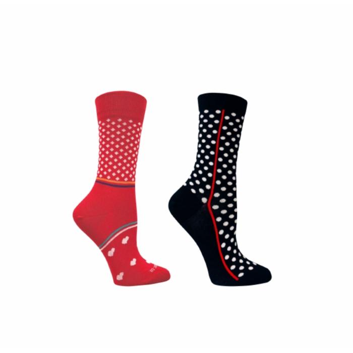 LOVE SOCK CO. Damen Lustige Bunte Socken,Mädchensocken witzige Strümpfe, Fun Gemusterte Muster Socken, Verrückte Socken Modische Oddsocks Mehrfarbig Klassisch als Geschenk 18 Paar 36-40 one-size