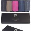 Pierre Cardin bunt premium baumwolle Geschenkkarton Geschenkbox 5 Paar Socken für Männer-332