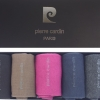 Pierre Cardin bunt premium baumwolle Geschenkkarton Geschenkbox 5 Paar Socken für Männer-331