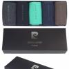 Pierre Cardin bunt premium baumwolle Geschenkkarton Geschenkbox 5 Paar Socken für Männer-334