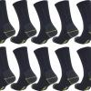 RHODEA 10 | 20 Paar Arbeitssocken WORK Socks Herrensocken Socken Strümpfe Baumwolle Meliert-319