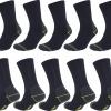 RHODEA 10 | 20 Paar Arbeitssocken WORK Socks Herrensocken Socken Strümpfe Baumwolle Meliert-318