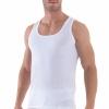 Blackspade Business Unterhemd Herren weiß schwarz Tank Top atmungsaktive Premium Baumwolle 9504-381