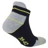 10 Paar Arbeitssocken Funktionssocken - Sneaker-Socken Füßlinge - verstärkte Ferse und Spitze-425