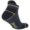 10 Paar Arbeitssocken Funktionssocken - Sneaker-Socken Füßlinge - verstärkte Ferse und Spitze-429