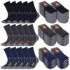 10 Paar Arbeitssocken Herren Damen Socken Performance Coolmax Premium Baumwolle