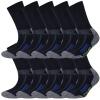 10 Paar Arbeitssocken Herren Damen Socken Performance Coolmax Premium Baumwolle-421