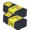 Arbeitssocken Schwarz Herren Tennis Komfort Socken Baumwollmischung 5 | 10 | 20 Paar-443