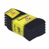 Arbeitssocken Schwarz Herren Tennis Komfort Socken Baumwollmischung 5 | 10 | 20 Paar-450